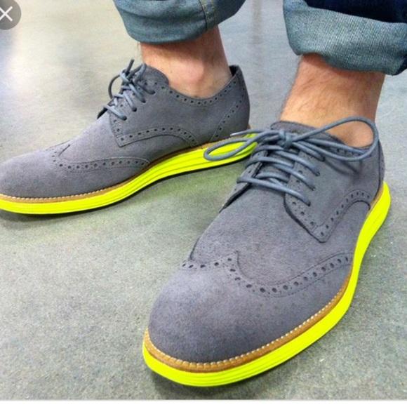 Cole Haan Lunarlon Nike Sole Shoes